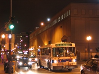 Bus #4924 at Belmont and Halsted working route #173 University of Chicago/Lakeview Express on May 21, 2005.