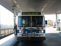 Bus #4919 (ex-Pace #2099) at 95th and Dan Ryan on October 30, 2005.