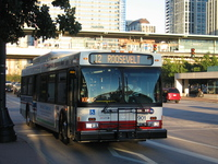 Bus #901 at Roosevelt and State, working route #12 Roosevelt, on August 31, 2007.