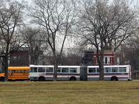 Bus #7330 on March  8, 2004.