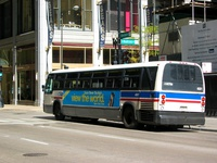 Bus #4681 at Dearborn and Madison on October  2, 2004.