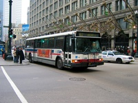 Bus #5762 at State and Washington, working route #62 Archer, on November 17, 2003.