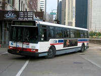 Bus #5546 at Michigan and Madison, working route #157 Streeterville/Taylor, on November 17, 2003.