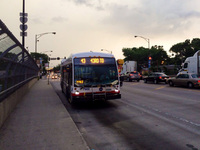 Bus #7900 at 47th and Wentworth, working route #43 43rd, on June 24, 2014.