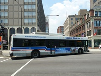 Bus #905 at Michigan and 11th, working route #18 16th/18th, on May 25, 2010.